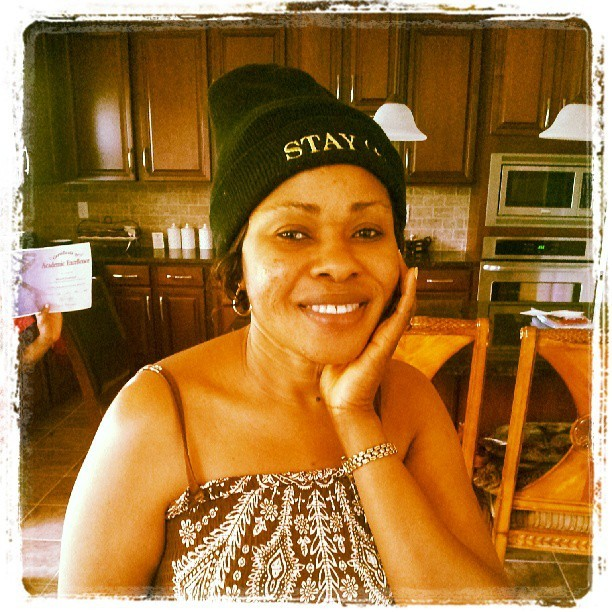 My mama rocking that STAY (+)