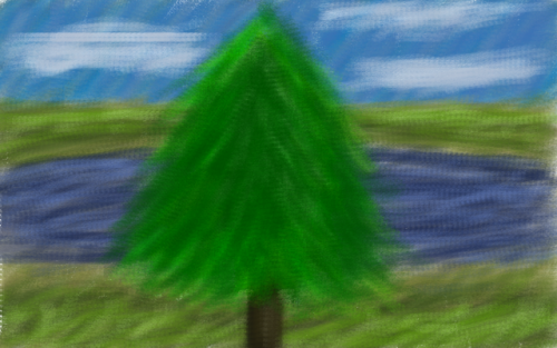 authorintheflame:  I got new toys so I drew a tree. I invested in a bamboo pad and now I don't have to deal with the scanner as much. I drew in the latest version of gimp using the charcoal brush. I think it's good so. This is also my first actual not squiggle with the thing so there's that.  I have had one for two years and I haven't even done anything NEARLY that amazing. Teach me, master.
