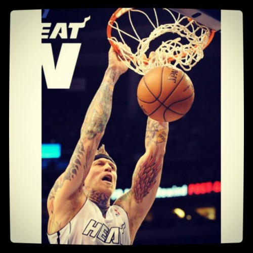 karrouxche:  #MIAMIHEAT #CHRISANDERSEN #BRIDMAN #NBA #HEAT #WINGS