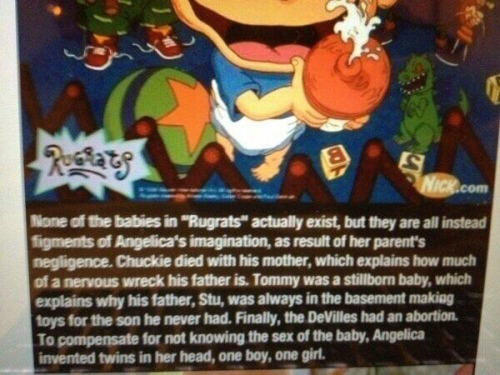 My childhood is over.