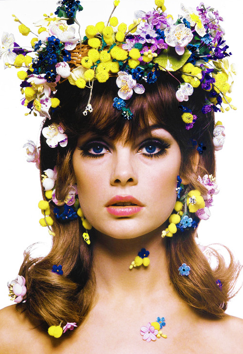 Jean Shrimpton, 1963. Photo by Bert Stern