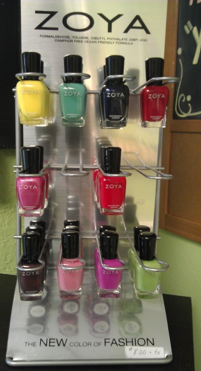 #Zoya. Our favorite nail color fashion of choice! Healthier for you!