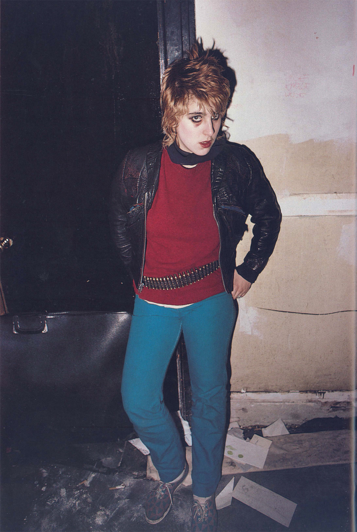 "Punk Girl, from the ""We're Desperate"" series by Jim Jocoy, LA ca 1979"