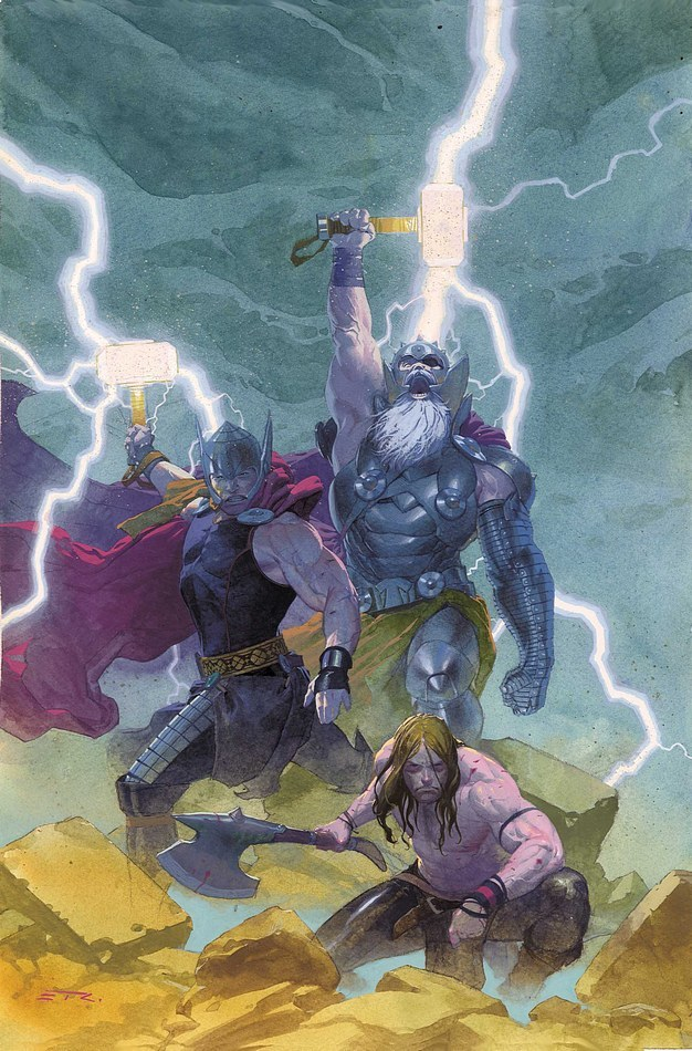 comicbookartwork:  The Mighty Thor By ESAD RIBIC