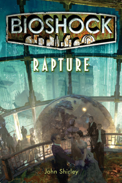 Finally finished reading BioShock Rapture! I feel so ready to jump in and experience BioShock properly now, all the way through. Having played it in bits before I saw things and visited places that were interesting and unique, but now I'll be experiencing all that goodness with so much more knowledge about what I'm seeing. Rapture is such a cool and mysterious place and I love learning about it! I'm hoping there'll be some things in-game I'll notice specifically from the book. People or places or marks on the environment, I can think of stuff I'm excited to see already! I want to thank John Shirley for writing the book too. I read the authors notes and it seems like something he cared about and deeply sunk himself into, almost purely as fan service for a relatively small audience. Ken Levine too, for letting it happen. I won't go into it much, but this is why I find transmedia so interesting. Expanding worlds and enriching experiences in meaningful, worthwhile and planned ways. I wrote my dissertation on transmedia, it's great to experience more of it. I'll definitely be reading BioShock Infinite: Mind in Revolt before settling into Columbia! Love having these rich supplements to the greater experience! For sure reading Uncharted: The Fourth Labrynth next. Maybe the Uncharted and Ratchet and Clank Graphic Novels too! And maybe, just maybe one day.. I'll dive into Halo.. Side note: I'm reading this stuff as eBooks..on my iPhone, say whaaaat! Not a bad way to read in short bursts, the bookmarking makes it super easy to jump in and during downtime at work, and having a Night mode for when I'm in bed makes my eyes say thank you!
