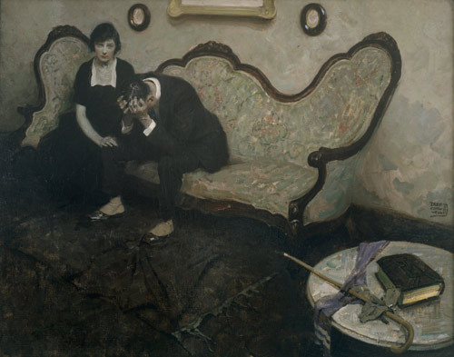 """It's Hard to Explain Murder""  Dean Cornwell, 1920"