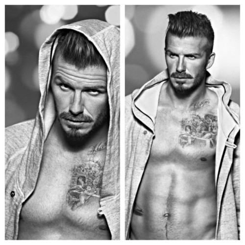 David Beckham …he's retiring 😢⚽ #h&m #benditlikebeckham #becks #mancrushmonday #mcm #picstitch