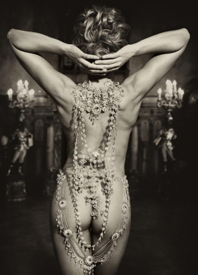 La Rivière de Diamants…  Millionaire Woman by Marc Lagrange