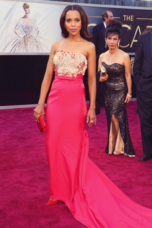 Kerry Washington at the 85th Annual Academy Awards