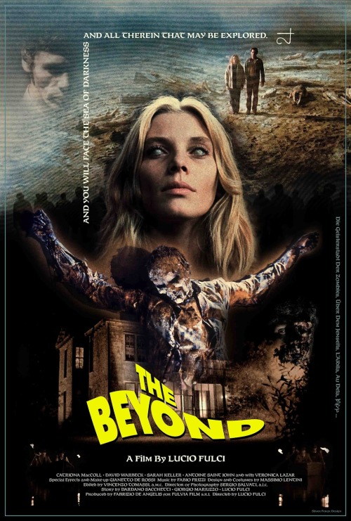 thefrenchwizard:  The Beyond - 1981 by Horror Master Lucio Fulci