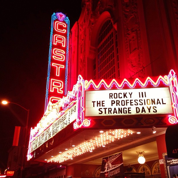 Opening night of the #DisposableFilmFestival. (at Castro Theater)