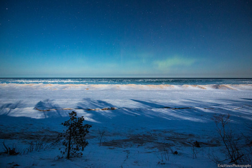 Aurora Over Lake Superior on Flickr.