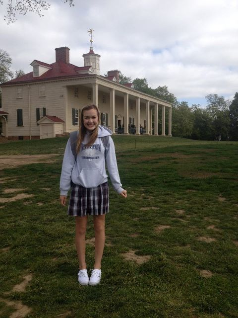 No big deal, just hanging out at Mount Vernon yesterday!