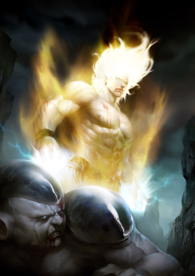 Frieza vs Goku by ~Creative—Artists awesome