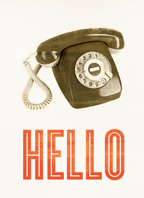 betype:  Hello Retro Phone   Get inspired on Betype.co