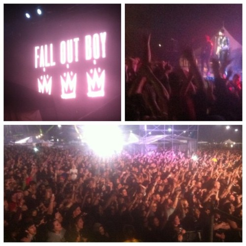 Fall Out Boy puts on one hell of a show
