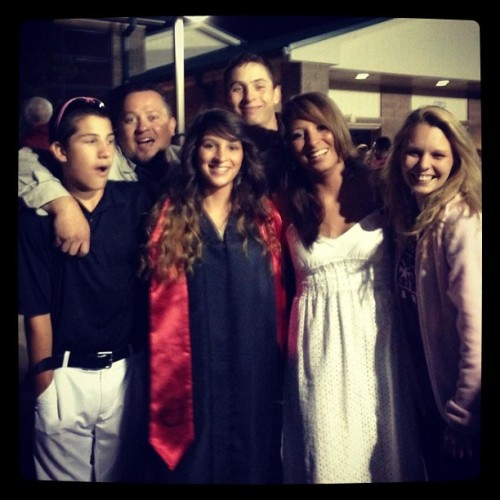 This pic describes us all in a nutshell! @caseyrperez #graduation #theratpack 😁❤🎀🎉