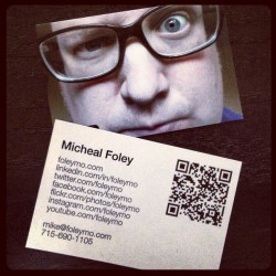 My new business cards for my personal brand are here. What do you think?