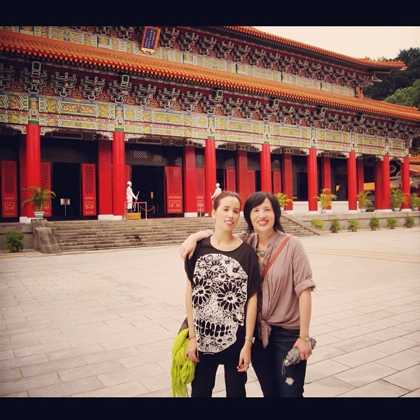 Apparently today is siblings day…so here is me and my sissie in Taiwan.
