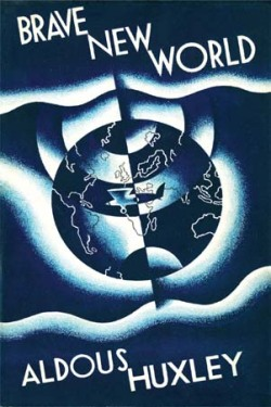 "Brave New World, Aldous Huxley (M, 30s, said to me ""This conductor sounds like the teacher on Charlie Brown"", G train) http://bit.ly/107KQqi"