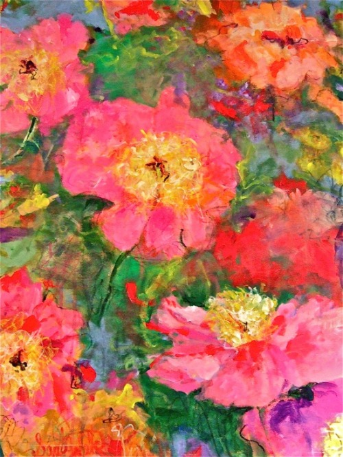 Peonies:  Sandy Welch