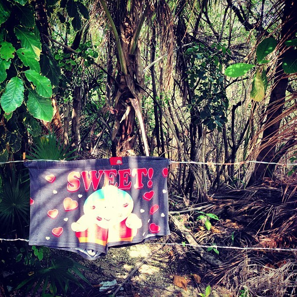 so nice to see cartman drawers getting jungle airtime :) #tulum #mexico #caribbean #beachlife #everystring