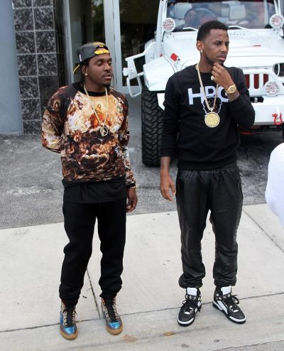 Oh hi Pusha T + Fabolous…