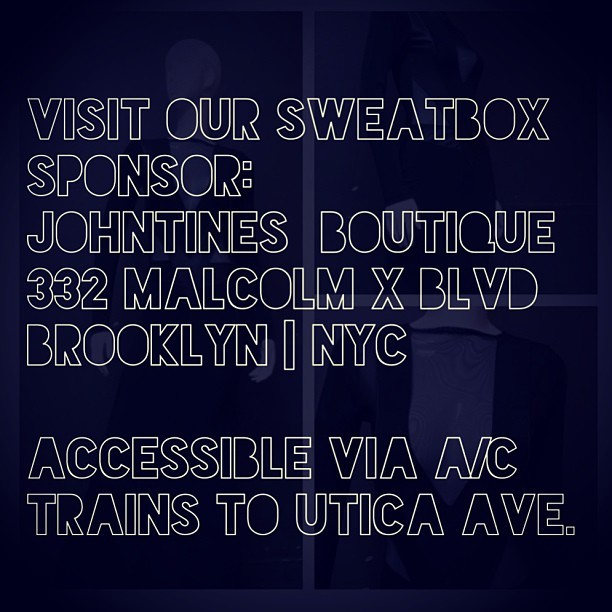 VISIT OUR SWEATBOX  SPONSOR: Brooklyn's #1 #boutique for curvy and +size #hauties @johntinesboutique 332 MALCOLM X BLVD BROOKLYN Accessible via A/C Trains    SWEATBOX…THE #1 #FITNESS #PARTY IN #NYC IS GOING DOWN IN BROOKLYN MONDAY, MAY 13th 7pm to 9pm WHERE: 278 ALBANY AVENUE BTWN ST. JOHN's & LINCOLN PL.   HOSTED BY JEZRA MATTHEWS @jezzyplussize AND YANIKA NICHOLAS, AUTHOR OF CONFIDENCE IS YOU @confidence_is_you ! WE'll ALSO HAVE SIR WARNER OF   @KeepMovingFitness GIVING YOU 50 MIN. OF CARDIO! COME SWEAT GLITTER WITH US!!! #MUSIC BY REDLINE PRODUCTIONS @icebergmcfly x @djbignito  SPONSORED BY  Brooklyn's #1 #boutique for curvy and +size #hauties @johntinesboutique ONE LUCKY HAUTIE WILL WIN A NEW LOOK FROM @johntinesboutique COVER: $5 TO GET YOUR SIGNED COPY OF CONFIDENCE IS YOU: $15  #health #healthycurves #teamfit #teamcurvy #loveyourself #healthy #hashtageverything #hashtagisastupidword
