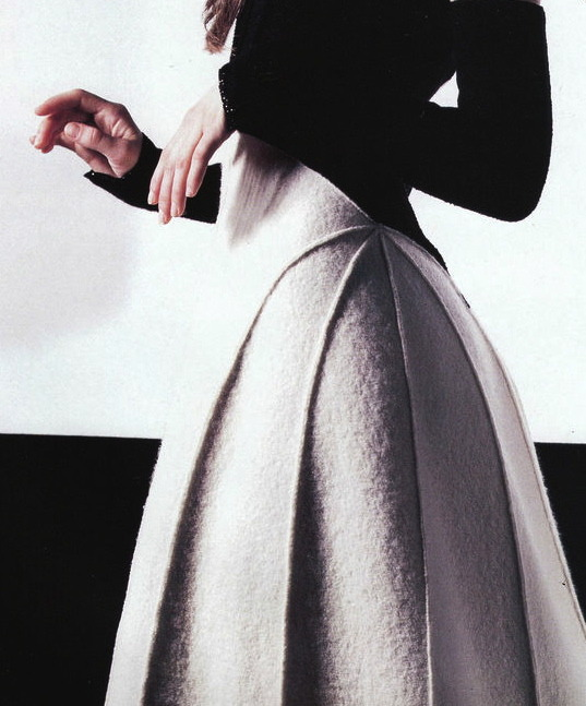 Angela Lindvall by Karl Lagerfeld for Chanel Fall 1999