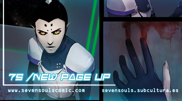 ENGLISH  |  ESPAÑOL  |  TWITTER  |  VOTE 7S webcomic update - mission 1 [page 20 + 21]