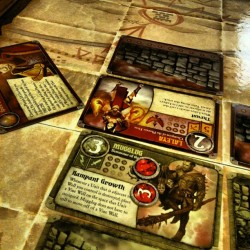 Summoner Wars - Hilary (Phoenix Elves) def Chris (Swamp Orcs)