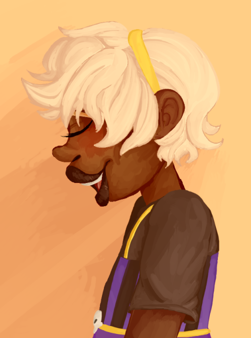 hetaredoodle:  trying to get some profile practice in, haha i suck
