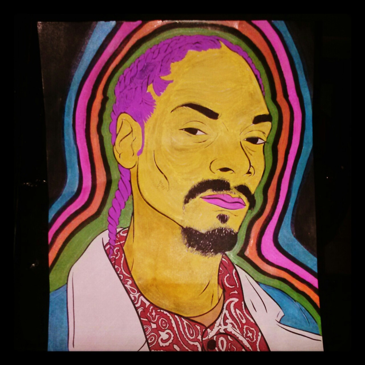 Snoop dog I colored