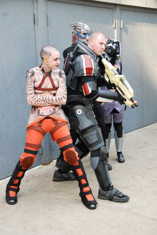barzul:  mass effect meetup !! EDIT: the great Jack cosplay is aeonbaby!!