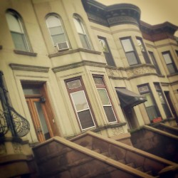 """Park Slope Brownstones""   #Spring #Springtime #Brooklyn #abrooklynsoul #brooklynpoets #igersofbk #made_in_ny #NYC #NewYork #NewYorkCity  #ProspectPark #Trees #UrbanLandscape #UrbanDwellings #explore_brooklyn #explore_community #explore_nyc #Brownstones #Homes #Houses #ParkSlope  (at Park Slope, Brooklyn)"