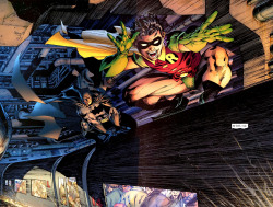 super-nerd:  Batman & Robin by Jim Lee