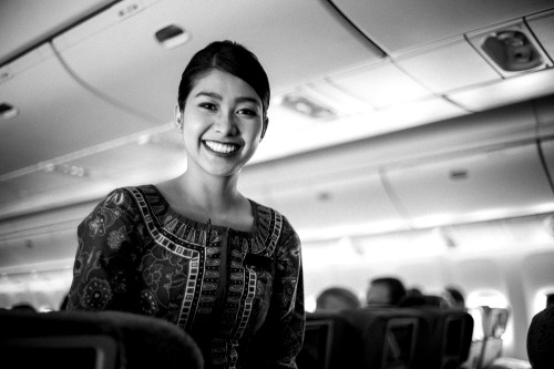 :-) - Singapore Airlines, 2013 Photo by Mario Grudnick