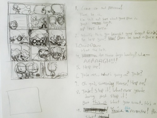 This week's comic thumbnails