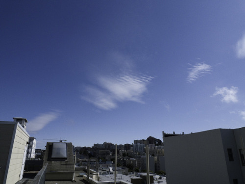 close up of chemical clouds with HAARP in San Francisco   5-16-13 on Flickr.