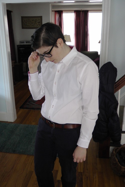 Androgynous shirt