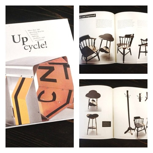 New and Improved featured in the new Upcycle! book.