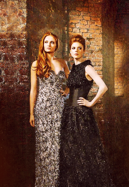 Sophie Turner and Rose Leslie for Radio Times.