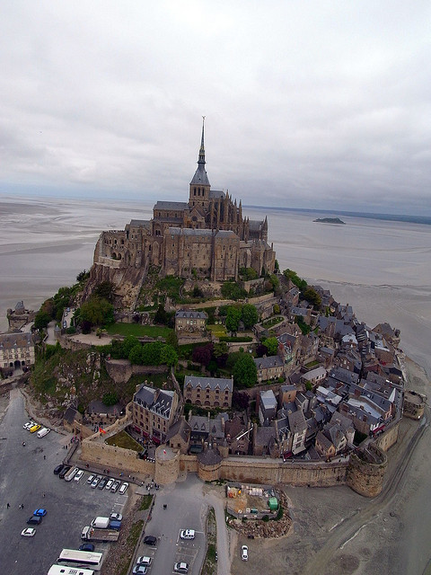 visitheworld:  Mont Saint-Michel, Normandy, France (by Pierre Lesage).