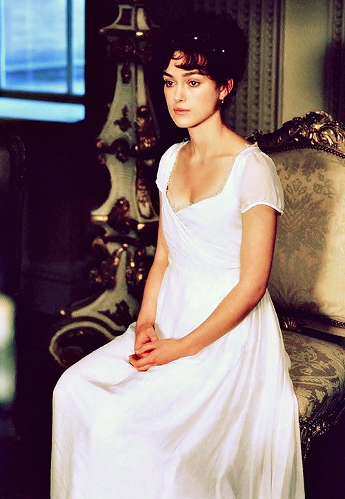 """You can't ask for a better part than Elizabeth Bennet. So if you give an actress who is even remotely good the chance to play a fantastic character like that, they are going to revel in it. They really are."" (Keira Knightley)"