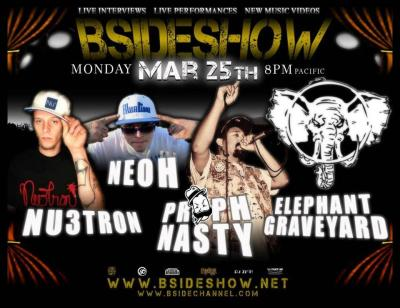To all my friends and believers I'll be on the Bsideshow.net tonight getting interviewed bout whats next in my career shows,music etc but I'll probably end up talking about what happened on The Walking Dead last night EPIC!!!! I still can't get over it haha so tune it on your computers show starts at 8pm ends around 11pm I'll be on sometime in between with please jump on the chat room eith your questions and i'll be doing a live set #dowork