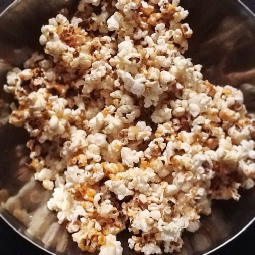Pop corn #home #made & dexter ! !   Fais par moi :)