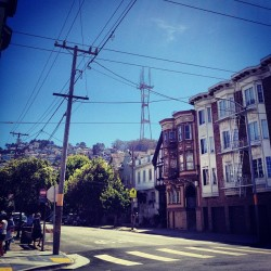 No matter where I go, Sutro is always lookin good.
