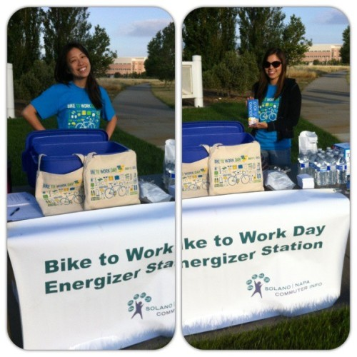 #Happy #BikeToWorkDay!!! Out making it happen with :o) @jrewmccabe