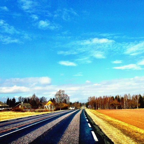 #estonia #road #sky #all_shots #beautiful #bestoftheday #follow #followme #iphonephotography #instagramhub #instagramers #instadaily #iphoneonly  #iphonesia #instamood #instagood #igers #instago #igdaily #instahub #instacool #photooftheday #picoftheday #pictureoftheday #picstitch #photo #webstagram #jj_forum #tweegram
