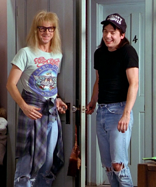 thefilmgods:  Wayne's World 2, 1993